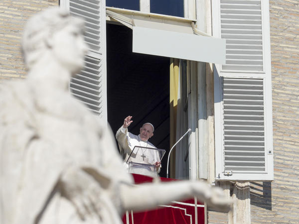 "The Vatican said Monday that it is ""morally acceptable"" to use COVID-19 vaccines, even if they used ""cell lines from aborted fetuses in their research and production process."" Pope Francis, who approved the statement, is seen here in January."