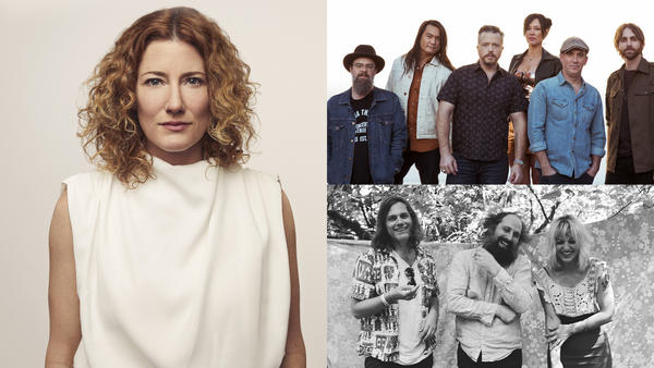 Kathleen Edwards (by Remi Theriault), Jason Isbell (by Alysse Gafjen), Bonny Light Horseman (by Annie Beedy)