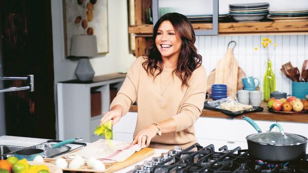 <em></em>Television chef Rachael Ray celebrates a milestone with a new book, <em>Rachael Ray 50</em>, that's part cookbook and part memoir.