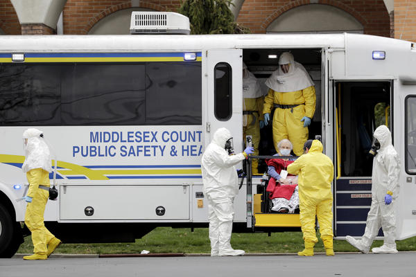 For the 78 residents of St. Joseph's Senior Home in New Jersey, the arrival of hazmat-suited officials in March in their caravan of ambulance buses was terrifying. Some evacuees with dementia shouted and furiously clawed at them. Others begged not to be taken away.