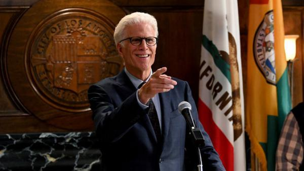 Ted Danson plays a retired millionaire who becomes mayor of Los Angeles in <em>Mr. Mayor. </em>