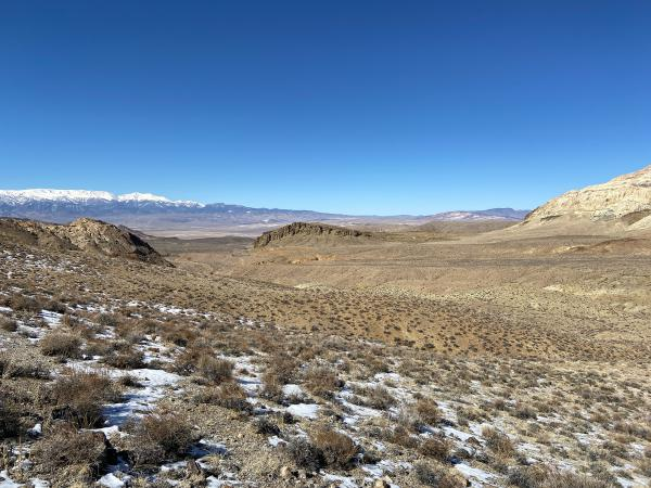 Buried underneath the ancient volcanic rock and dirt of the Silver Peak Range in central Nevada lies millions of tons of lithium.