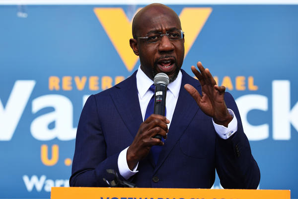 Raphael Warnock will become Georgia's first Black senator.
