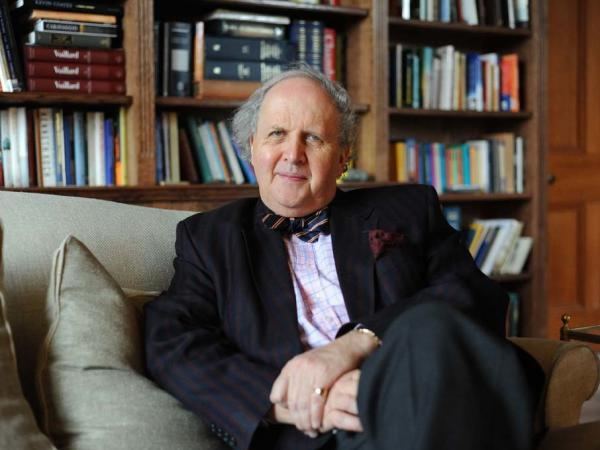 Award-winning author Alexander McCall Smith penned the lyrics to <em>These Are The Hands.</em>