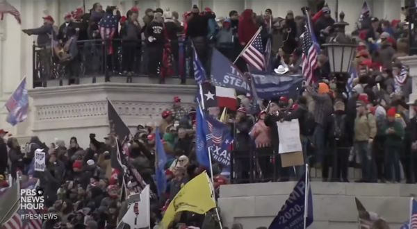 Pro-Trump supporters storm the U.S. Capitol.