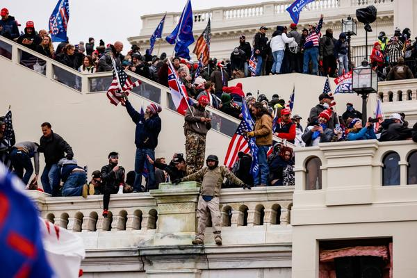 Pro-Trump insurrectionists stormed the U.S. Capitol following a rally with President Donald Trump.