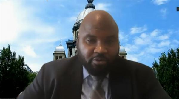 State Sen. Elgie Sims, D-Chicago, introduced a major police reform bill Thursday, a day before lawmakers were set to reconvene for legislative session.