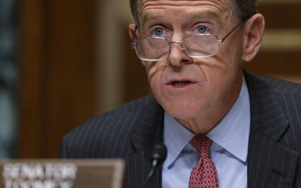 Retiring Sen. Pat Toomey, R-Pa., on Sunday joined his Senate colleague Lisa Murkowski, an Alaska Republican, in calling for President Trump to resign.