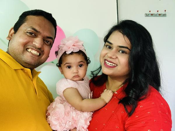 Dhaval Babu and his family have been in India since January 2020, unable to return to Texas because of Trump's temporary entry ban on some work visa holders.