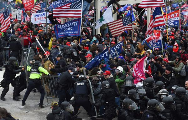 """When law enforcement officials failed to anticipate that pro-Trump supporters would devolve into a violent mob, they fell victim to what one expert calls """"the invisible obvious."""" He said it was hard for authorities to see that people who looked like them could want to commit this kind of violence."""