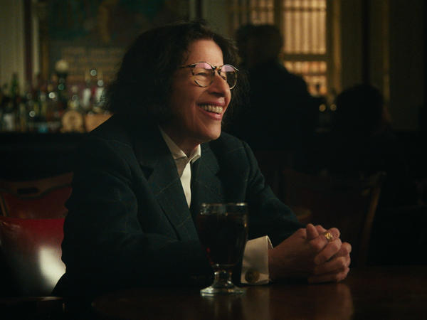 Fran Lebowitz talks about a wide variety of topics — including her stint as a New York City cab driver — in the Netflix series <em>Pretend It's a City.</em>