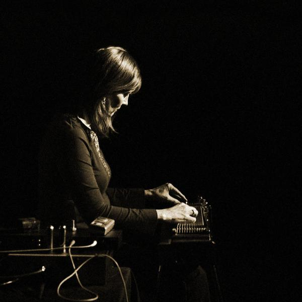 Pedal steel player Susan Alcorn, whose album with her quintet, <em>Pedernal</em>, was the pick for the best album of the year by Francis Davis, who runs the annual NPR Music Jazz Critics Poll.