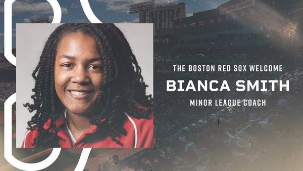 Bianca Smith. (Courtesy Boston Red Sox)