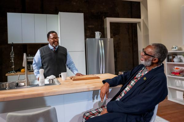 Wendell Pierce (left) and Charlie Robinson star in a new production of James Anthony Taylor's <em>Some Old Black Man.</em>