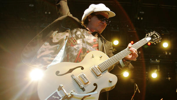 Sylvain Sylvain of the New York Dolls, shown here performing in 2007, has died at the age of 69.