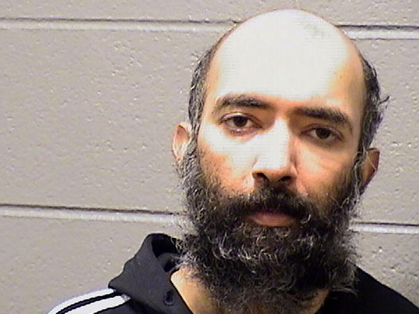 Aditya Singh, 36, is accused of hiding in a restricted area of the O'Hare International Airport in Chicago for three months. He was arrested Saturday after United Airlines staff said he possessed stolen airport credentials.