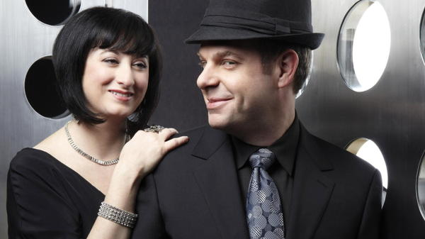 Renee Rosnes and Bill Charlap.