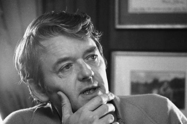 """""""I've always wanted to just be an actor ... that's all I've ever wanted to be, playing different roles,"""" Hal Holbrook told NPR in 2008. He is shown above in his New York apartment in February 1973."""