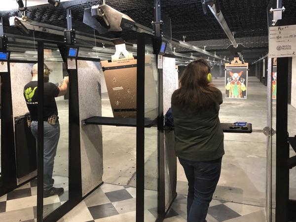 Target practice at Royal Range USA in Nashville, Tenn.