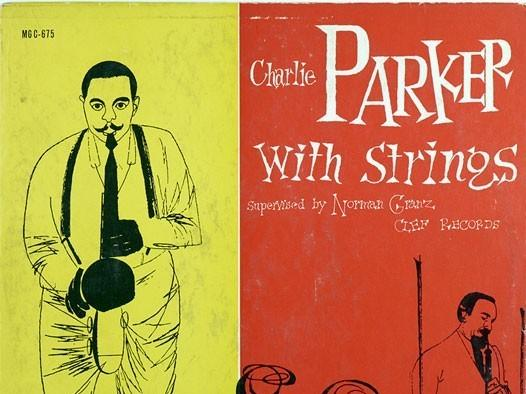"""""""Charlie Parker With Strings"""" album cover"""