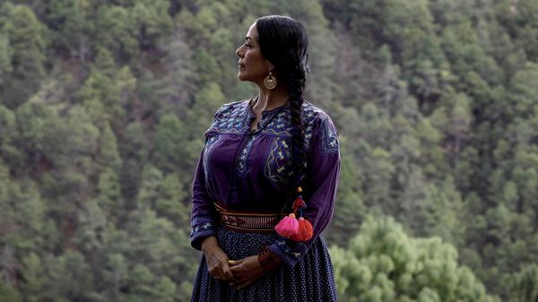 """Lila Downs' song for the <em>Morning Edition</em> Song Project,  """"Dark Eyes,"""" honors essential workers who are often overlooked."""