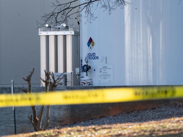 A liquid nitrogen leak at a Gainesville, Ga., poultry processing plant killed six people and sent 11 others to the hospital Thursday.