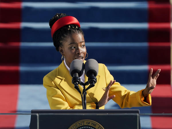 Amanda Gorman, the country's first National Youth Poet Laureate, recited her poetry at President Biden's inauguration on Jan. 20.