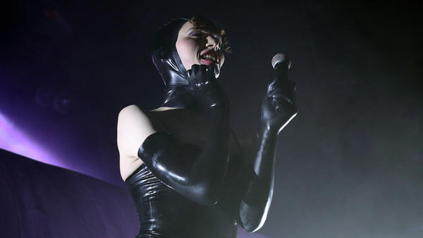 SOPHIE, seen here performing in London in March 2018, died Saturday morning after an accident.