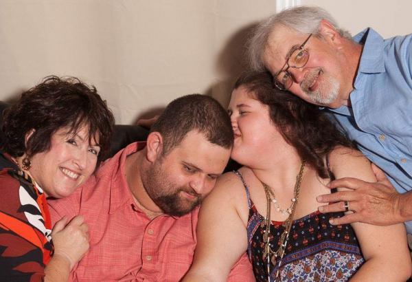 Ruth Singer-Strunck, Andy Strunck, Hannah Strunck and Mike Strunck live in Monroe.