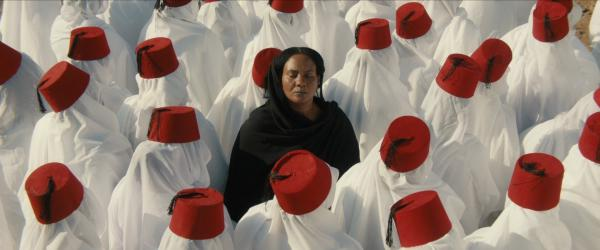 Islam Mubarak as Sakina in <em>You Will Die at Twenty</em>, the first Sudanese film submitted for an Academy Award.
