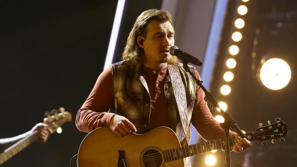 Morgan Wallen performs in November at the CMA Awards, where he won the New Artist of the Year award.