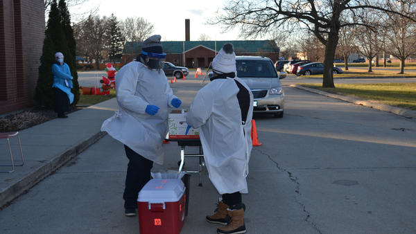 Citing a lack of access to testing for many vulnerable essential workers, a group of researchers teamed up with a local health clinic to organize pop-up COVID-19 testing events in the central Illinois town of Rantoul.