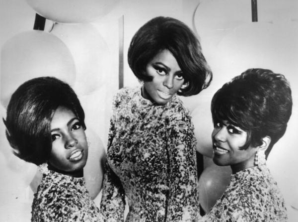 Mary Wilson (left), Diana Ross and Cindy Birdsong of The Supremes in 1968. Wilson, a co-founder of The Supremes, died Monday night at her home in Henderson, Nev. She was 76 years old.