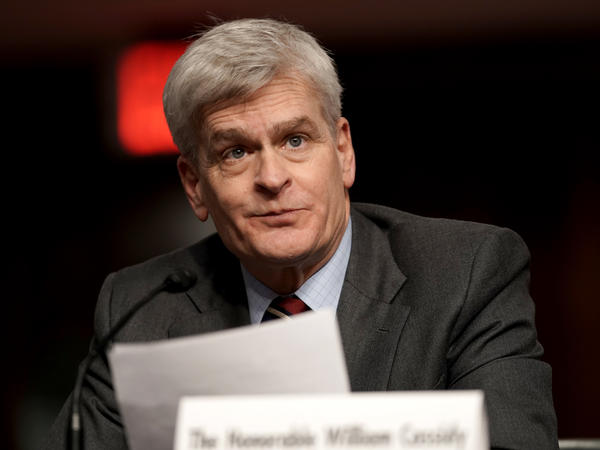 Sen. Bill Cassidy, R-La., on Tuesday voted to move forward with the Senate impeachment trial of former President Donald Trump.