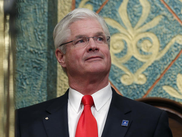 """Michigan state Senate Majority Leader Mike Shirkey was recorded on video calling the Jan. 6 attack on the U.S. Capitol a """"hoax."""""""