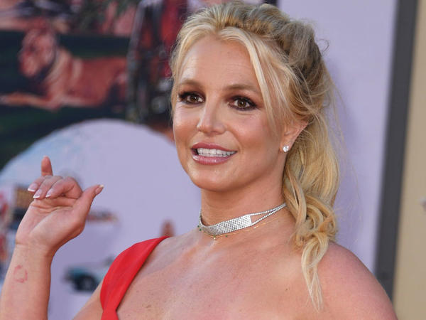 Singer Britney Spears at an appearance in Hollywood in July 2019.