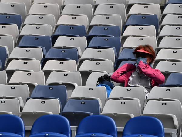 The stands at the Australian Open will be looking quite empty for the next five days after officials in the state of Victoria called for a five-day lockdown of the region. Spectators won't be allowed at Melbourne Park during that time.