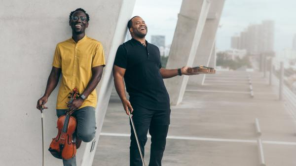 """The Fort Lauderdale duo Black Violin wrote """"Time to Shine"""" after reflecting on what happened last year and ringing in the new one."""