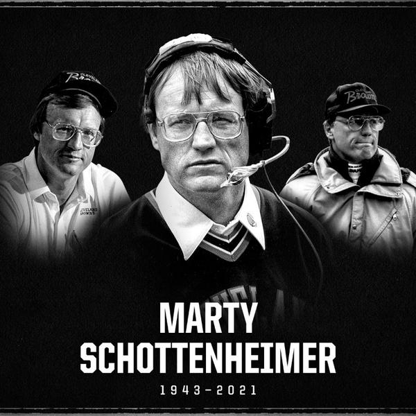 Marty Schottenheimer's 44 wins in Cleveland are the fourth-most in franchise history.