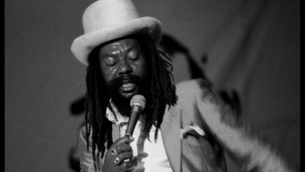U-Roy, performing at Reggae Sunsplash in Montego Bay, Jamaica on Aug. 8, 1984.