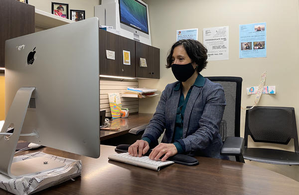 Wichita State sociolinguist and Spanish professor Rachel Showstack focuses on language accessibility in health care.