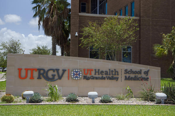 The University of Texas Rio Grande Valley School of Medicine in Edinburg, Texas, last year. The Rio Grande Valley, a four-county region that stretches across Texas's southernmost tip, remains one of America's most afflicted areas, with the highest hospitalization rates, deaths at more than twice the state average, overwhelmed hospitals and refrigerated trucks serving as back-up morgues.