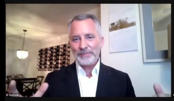 Former Pinellas Congressman David Jolly is the new chairman of the Serve America Movement