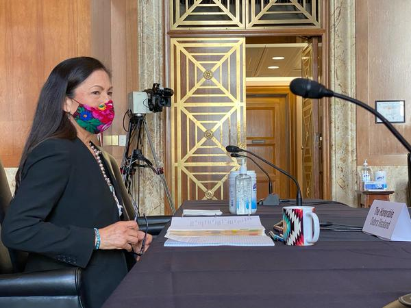 Deb Haaland sits for day two of confirmation hearings before the Senate Committee on Energy and Natural Resources.