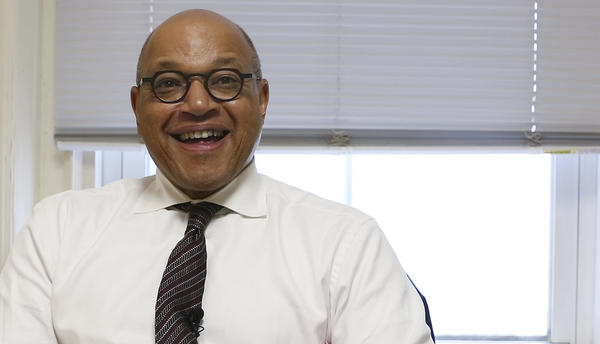 Morehouse College President David Thomas wants to make it easier for the more than 2 million Black men who were never able to complete their plan to get a college degree.