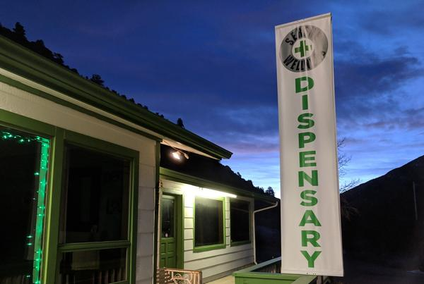 A Colorado cannabis dispensary, the kind some people want to open in Kansas for medical marijuana.