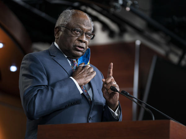 Rep. James E. Clyburn, D-S.C., has asked Trump administration officials to account for how and why they selected particular companies to provide personal protective equipment.