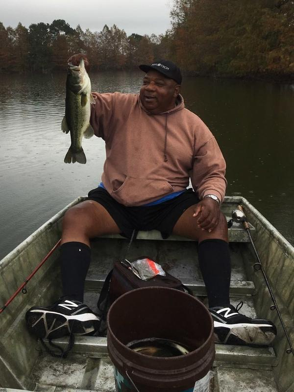 David Smith Sr., of Vinton, La., was a master fisherman. He died of COVID-19 on New Year's Day at the age of 70.