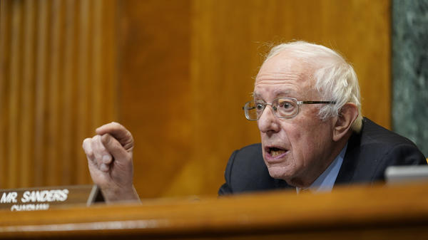 Senate Budget Committee Chair Sen. Bernie Sanders, I-Vt., had sought an alternate proposal to include an increase in the federal minimum wage in President Biden's COVID-19 relief bill.