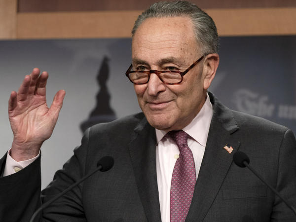 Senate Majority Leader Chuck Schumer, D-N.Y., is working to keep both moderates and progressives inside his caucus on board with the $1.9 trillion coronavirus relief bill and pass it this week.